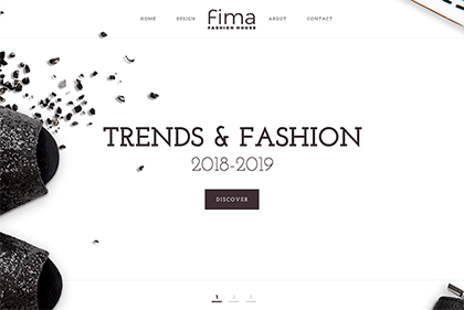 Fima Free Website Template