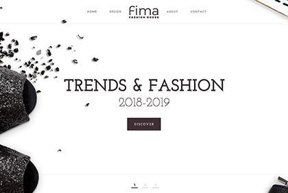 Fima Free Website Template