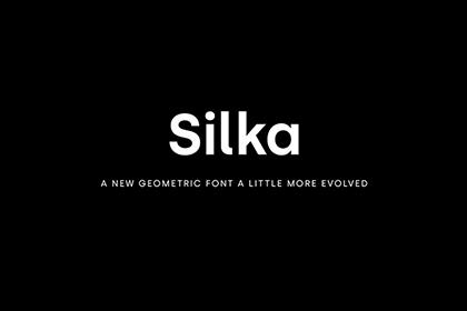 Silka Sans Serif Free Demo