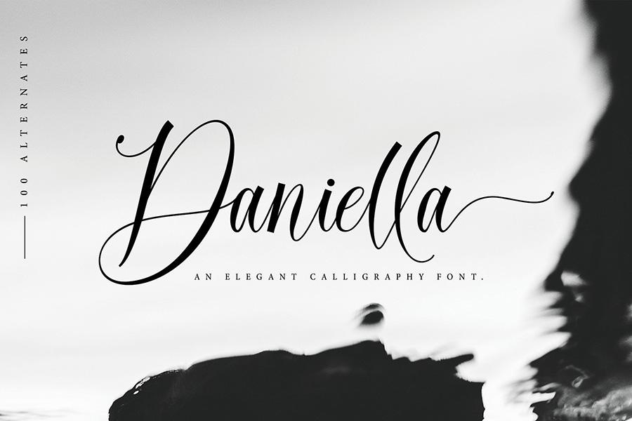 Daniella Script Free Demo