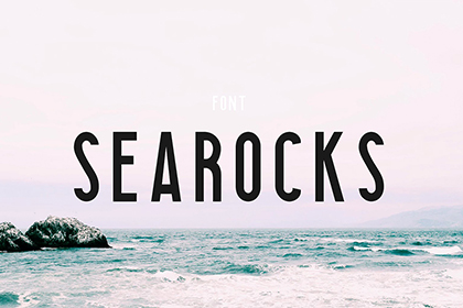 Searocks Clean Condensed Font