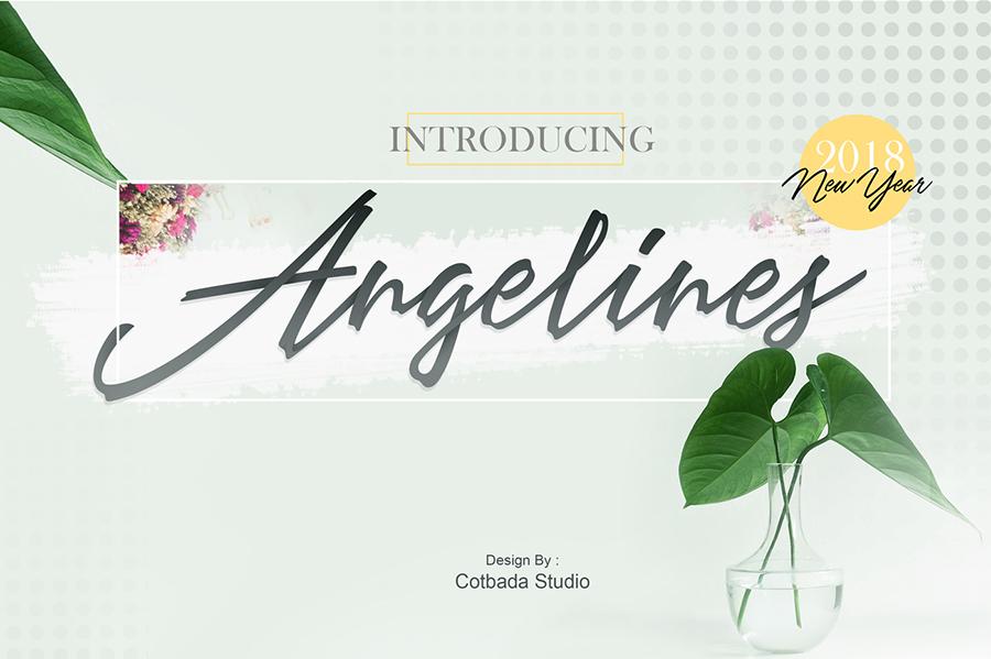 Angelina Script Free Demo