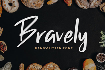Bravely Handwritten Font Demo
