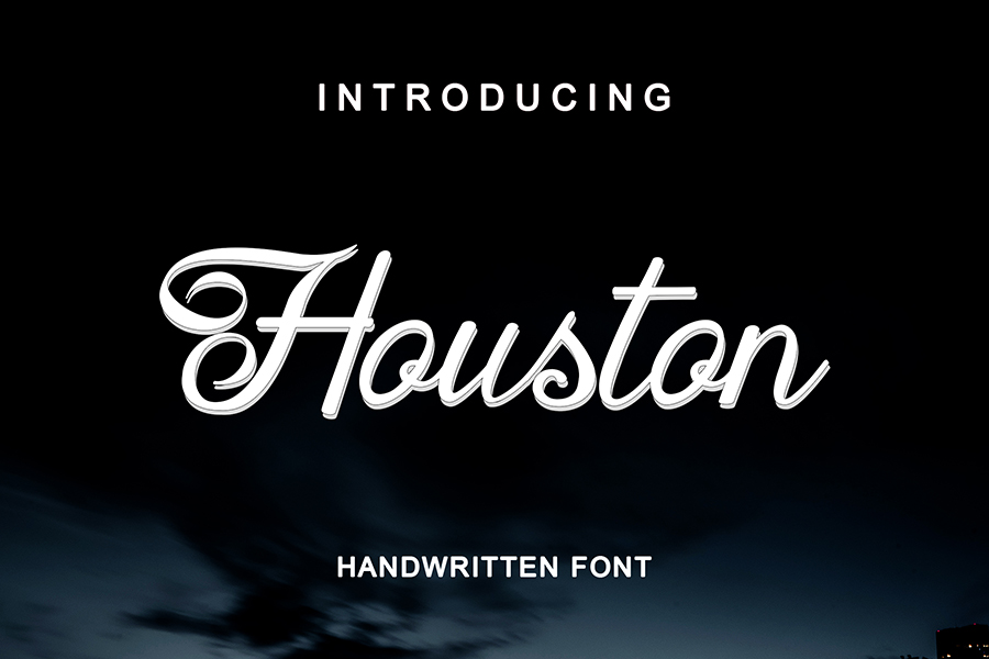 Houston Handwritten Font Demo