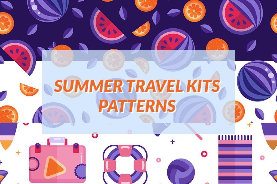Summer Travel Kit Patterns