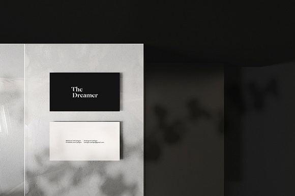 Fancy Business Card Mockup