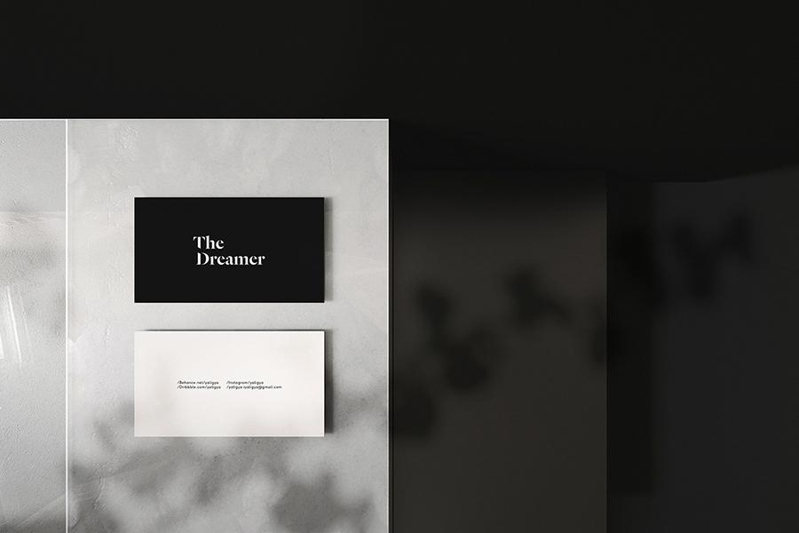 Fancy Business Card Mockup
