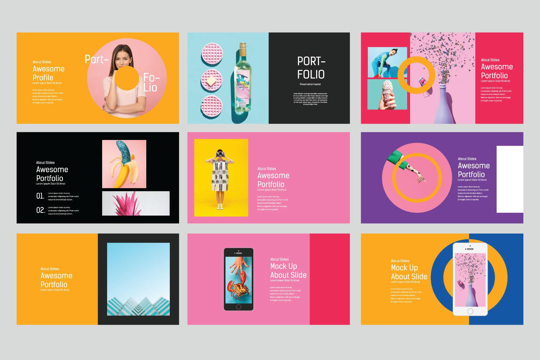 Lookbook Pastel Presentation Template
