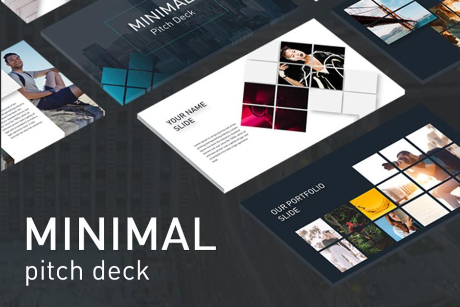 Minimal Pitch Deck Template