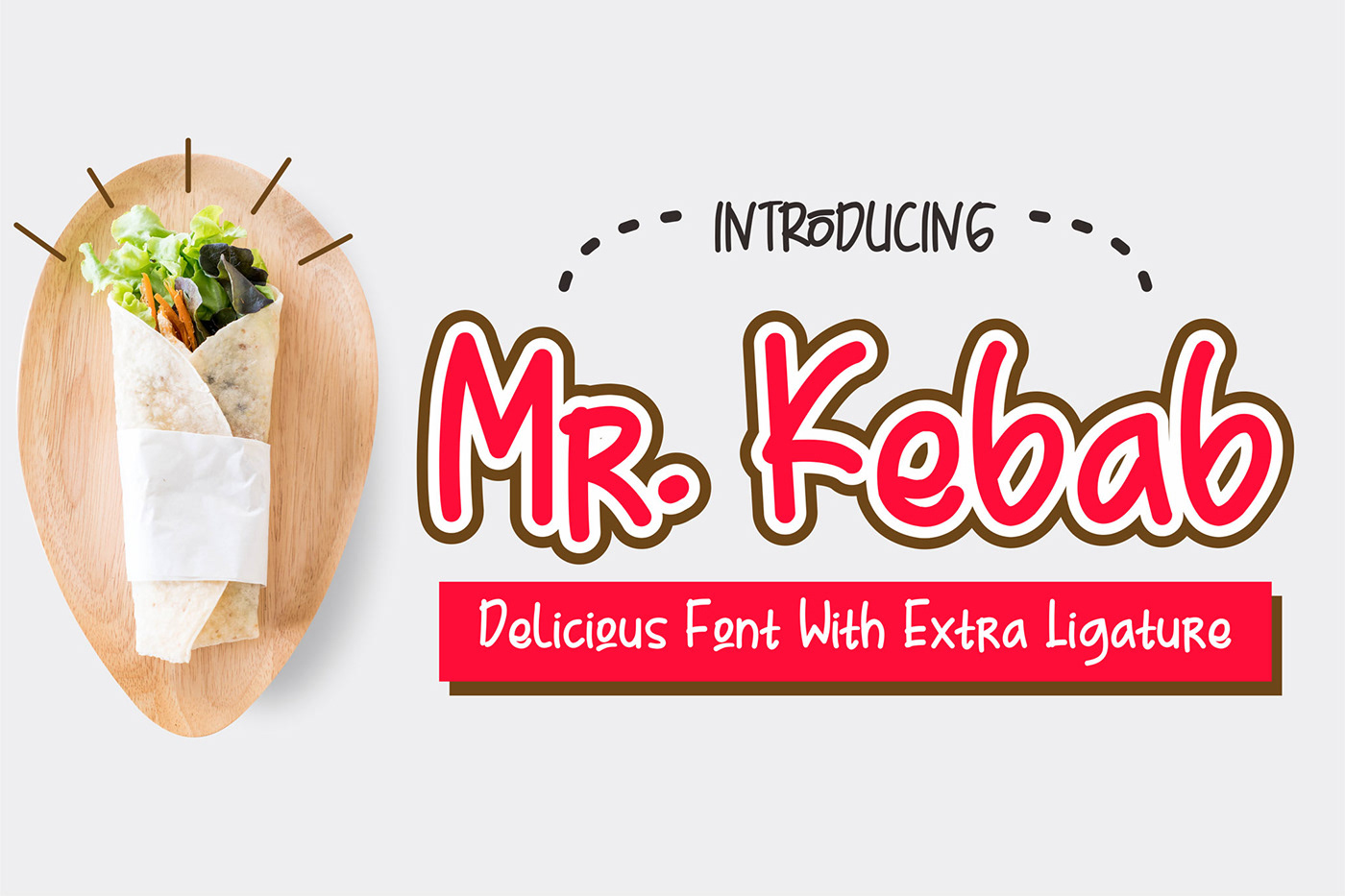 Mr Kebab Free Handwriting