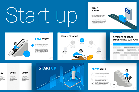 Start Up Presentation Template