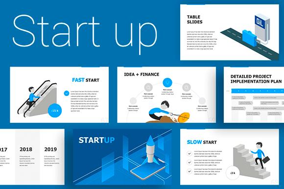 Start Up Presentation Template