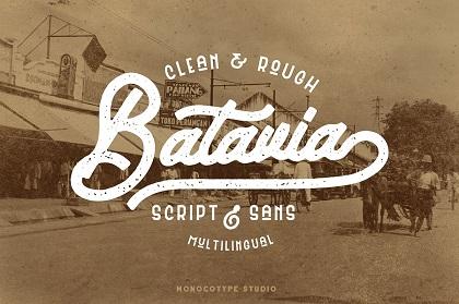 Batavia Free Font Duo