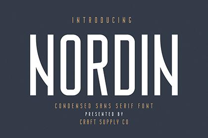 Nordin Sans Serif Free