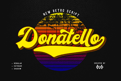 Donatello Retro Script Demo