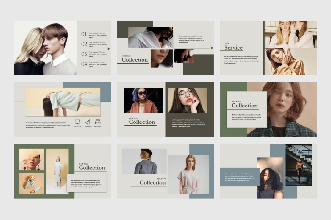 Elle Creative Powerpoint Template Free Design Resources