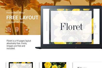 Floret Free Proposal Template Free Design Resources