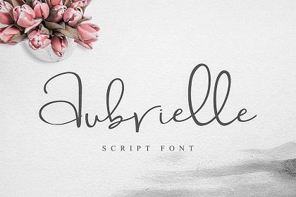 Aubrielle Script Font Demo