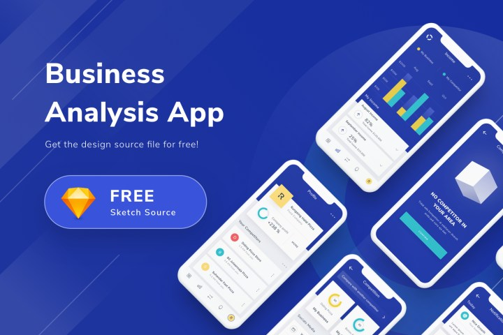 Free Clean Mobile App Design