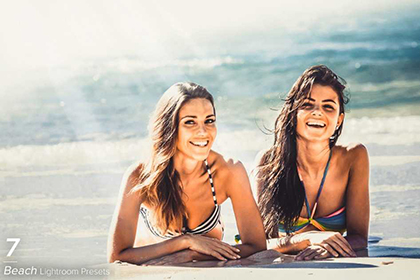 7 Beach Lightroom Presets
