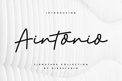 Aintonio Handwriting Script