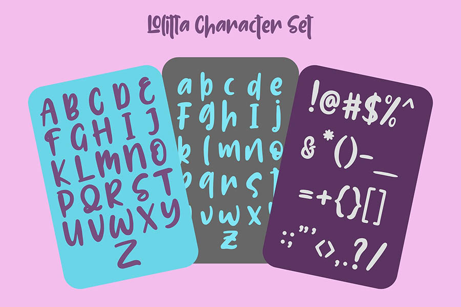 Lolitta Fun Display Font