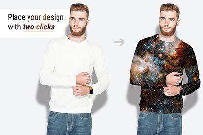 Free Menswear PSD Mockup