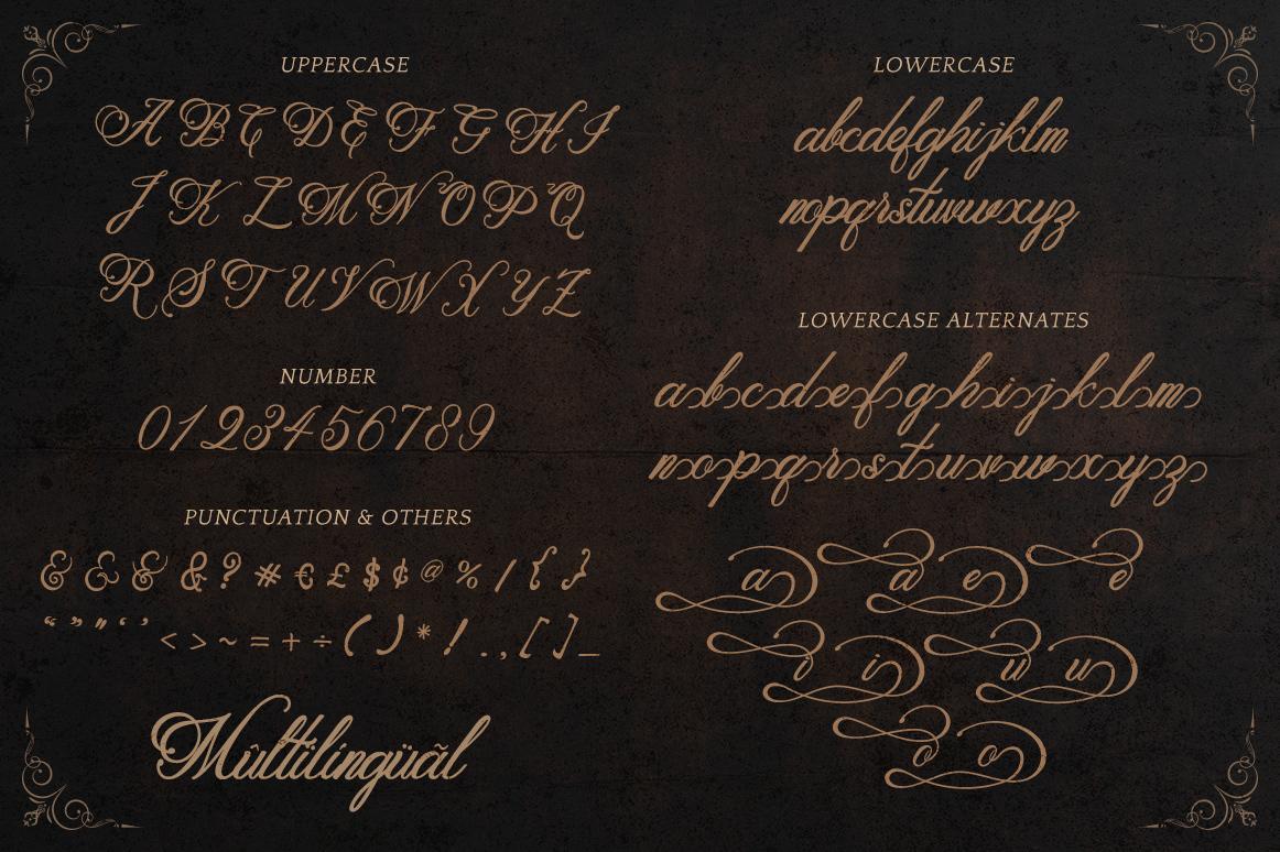 Metalurdo Script Font Demo