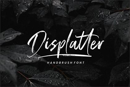 Displatter Handbrush Script