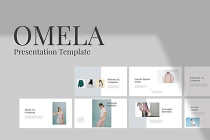 Omela Presentation Template