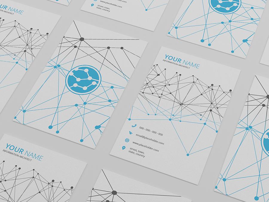 Tech Business Card Template