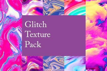 Glitch Texture Backgrounds
