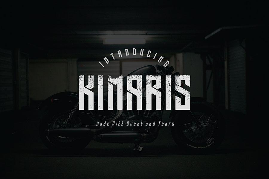 Kimaris Display Font Demo