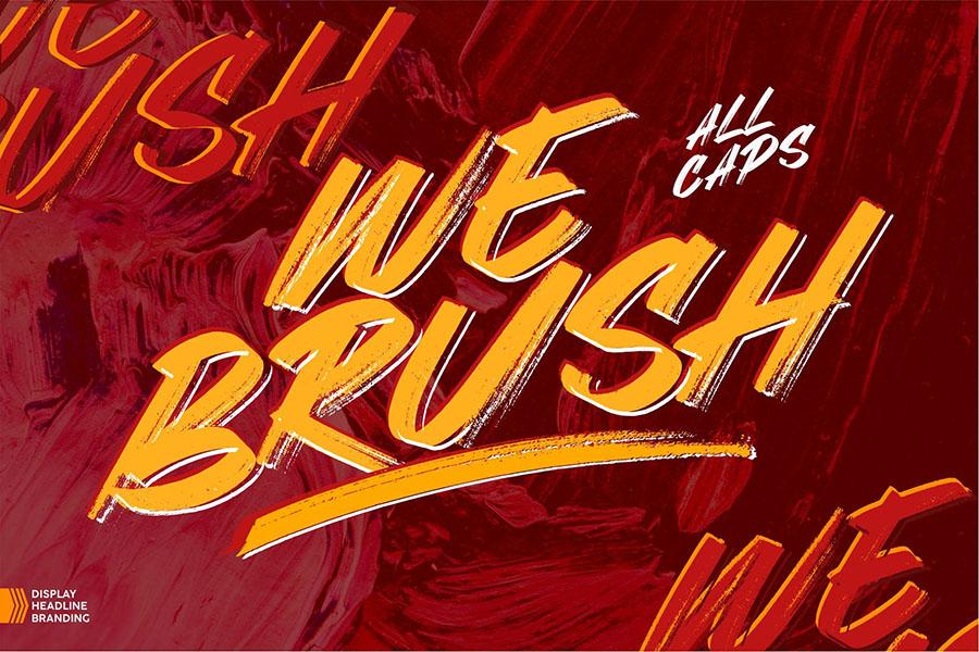 Webrush Urban Style Font