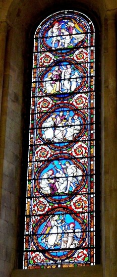 Temple Church Stained Glass 2