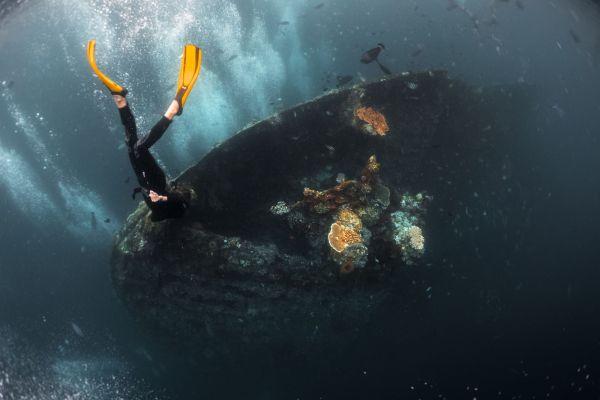 Liberty Ship Wreck