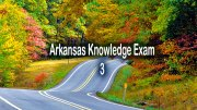 Free DMV Test - Arkansas Knowledge Exam 3