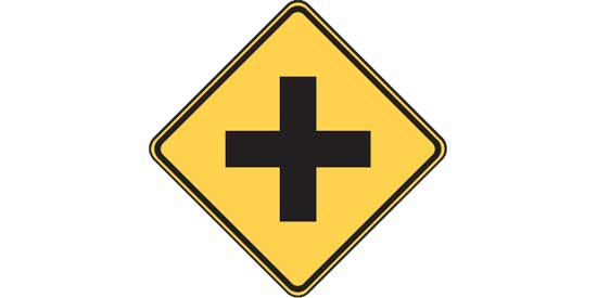 Free DMV Test - U.S. Road Sign