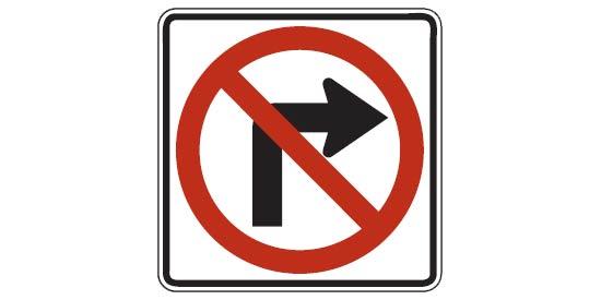 Free DMV Test - US road sign