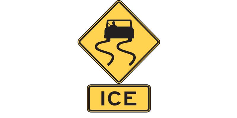 Ice plaque