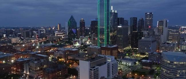 Dallas skyline - copyright xzelenz media