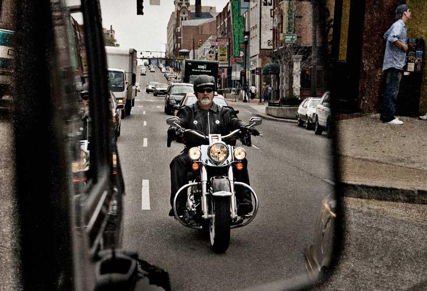 Motorcyclist - NHTSA image library