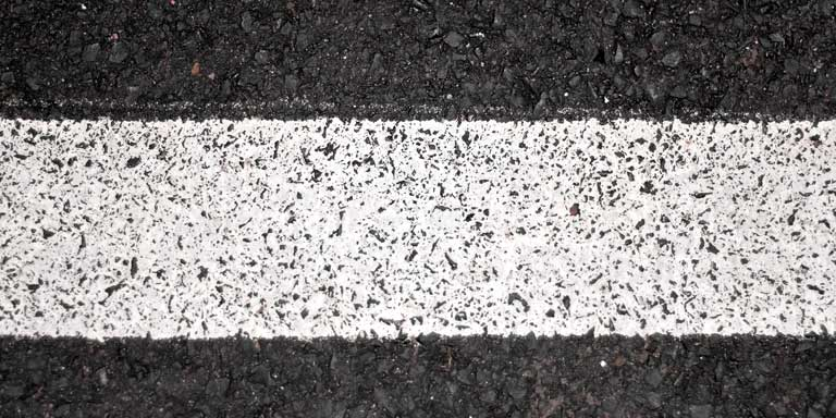 Road Markings - White lines
