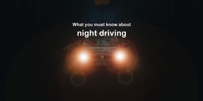 DMV Test: What you must know about night driving