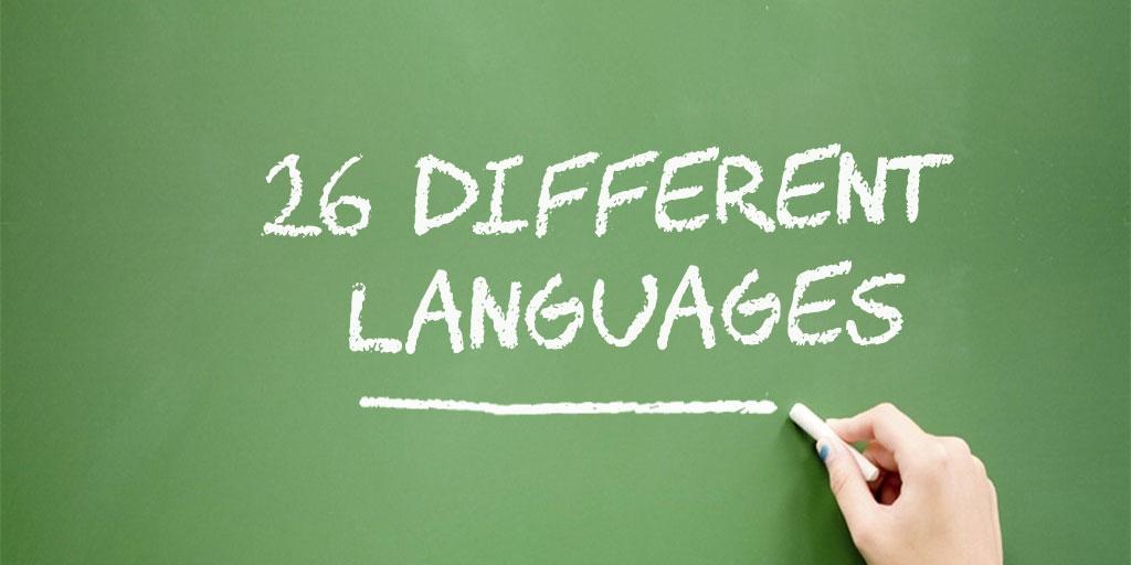 DMV Test in 26 languages