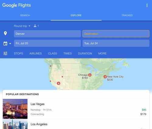 Flight booking tools