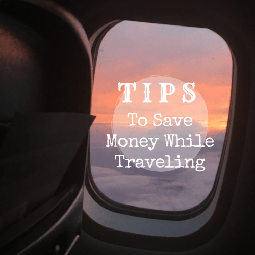Save money while traveling
