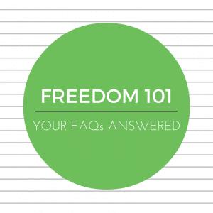 Freedom App FAQs