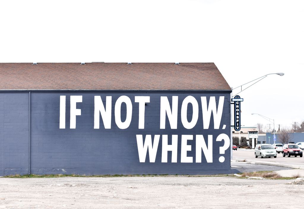 """Misconceptions about motivation - """"If not now, when?"""""""