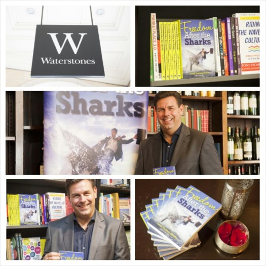 book signing at Waterstones Grid A